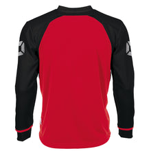 Load image into Gallery viewer, Stanno Liga LS Football Shirt (Red/Black)