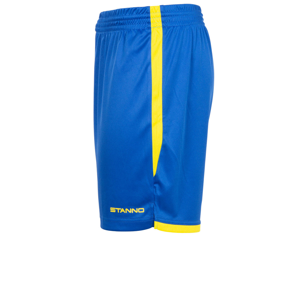Stanno Focus Football Shorts (Royal/Yellow)