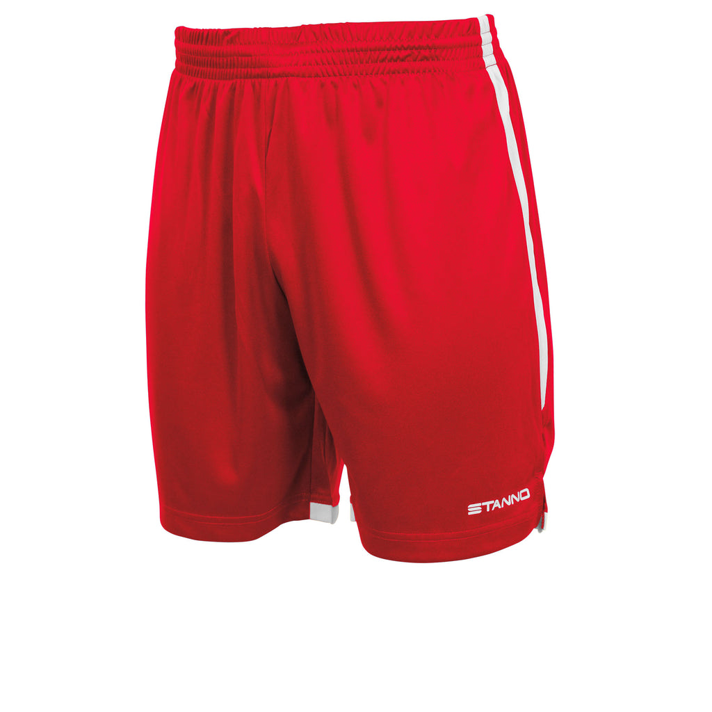 Stanno Focus Football Shorts (Red/White)