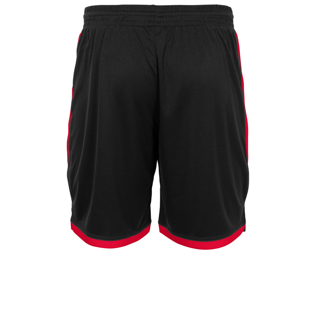 Stanno Focus Football Shorts (Black/Red)