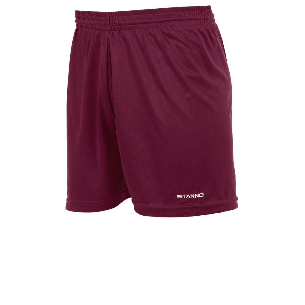 Stanno Club Football Shorts (Maroon)
