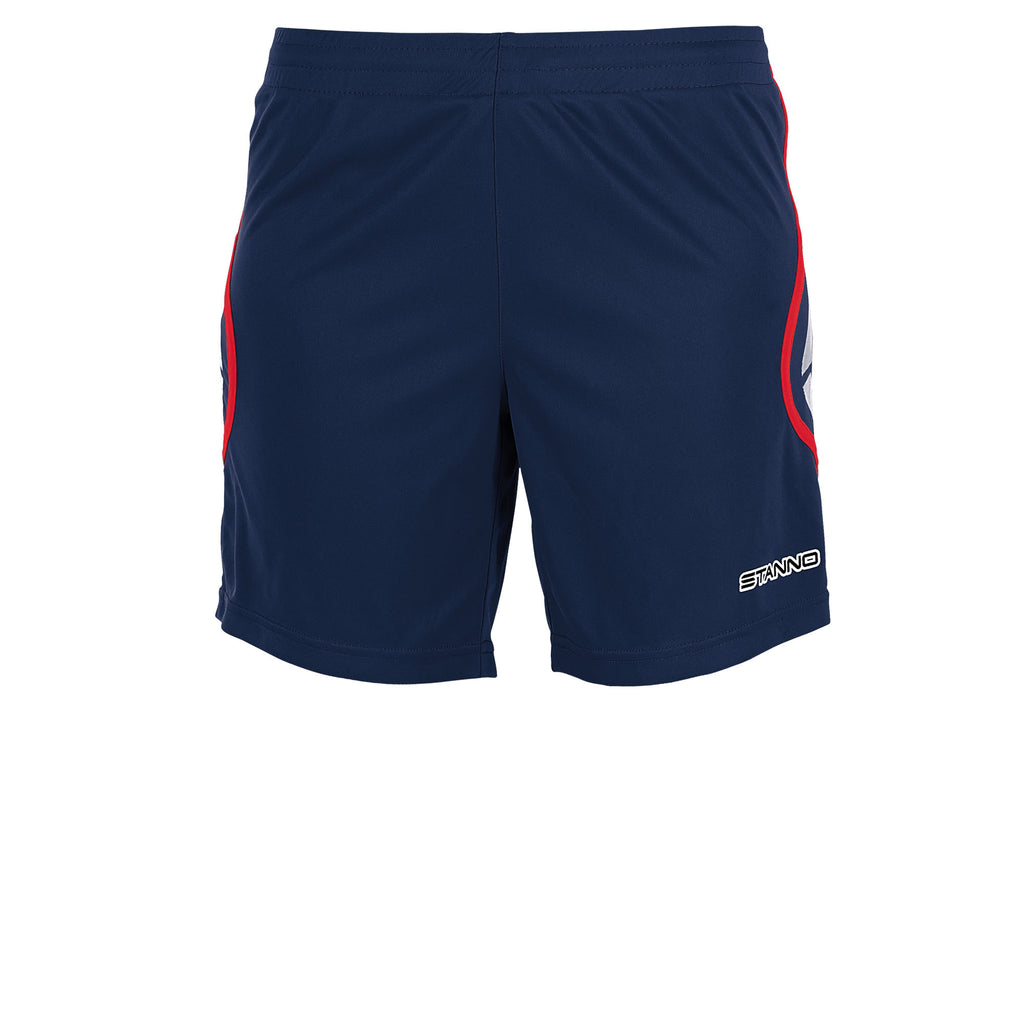 Stanno Womens Pisa Football Short (Navy/Red)