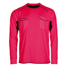 Load image into Gallery viewer, Stanno Bergamo LS Referee Shirt (Fuchsia)