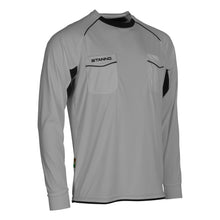 Load image into Gallery viewer, Stanno Bergamo LS Referee Shirt (Grey/Black)