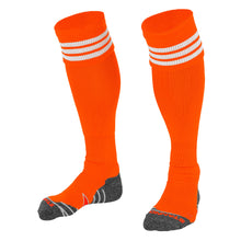 Load image into Gallery viewer, Stanno Ring Football Sock (Orange/White)