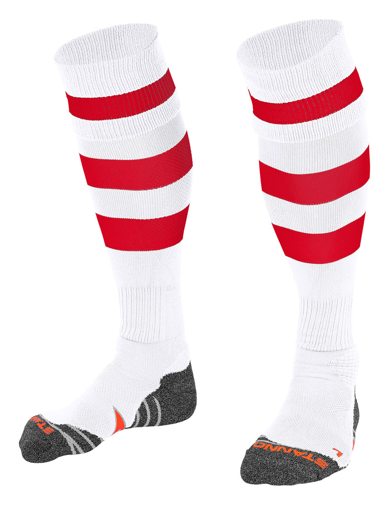 Stanno Original Football Sock (White/Red)