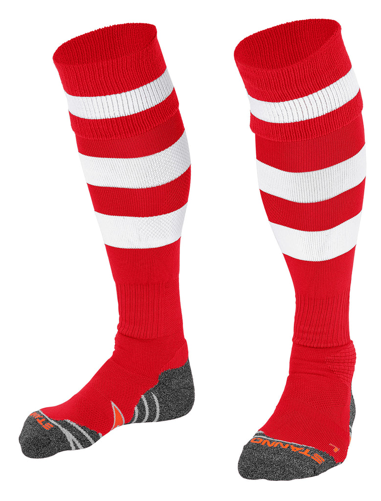 Stanno Original Football Sock (Red/White)