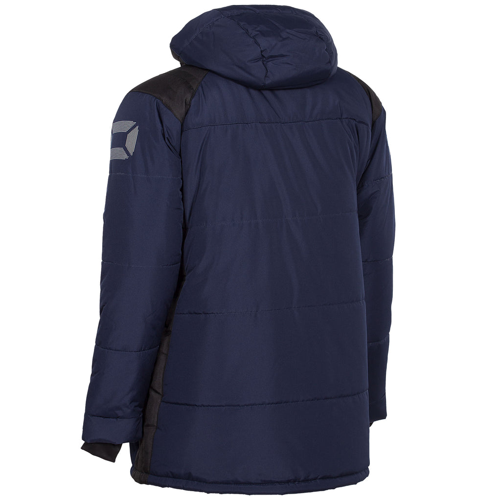 Stanno Centro Padded Coach Jacket (Navy/Black)
