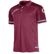 Load image into Gallery viewer, Stanno Prestige Polo (Maroon/Sky Blue)
