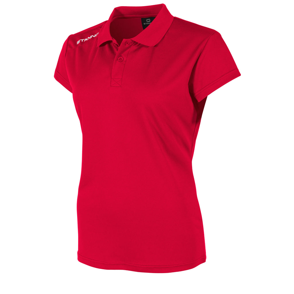 Stanno Womens Field Polo (Red)