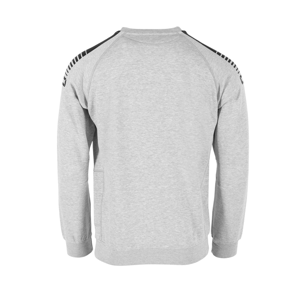 Stanno Ease Crew Neck Sweatshirt (Grey Melange)