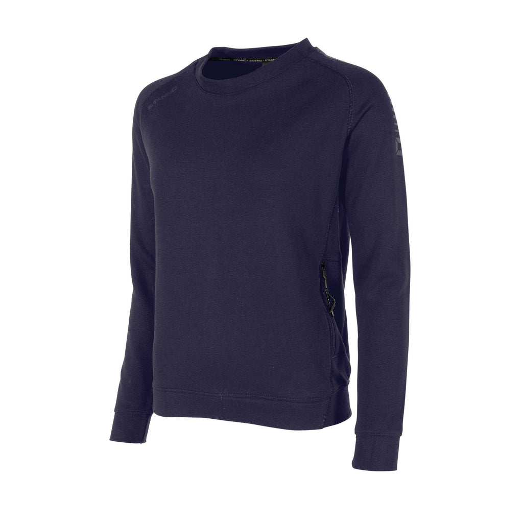 Stanno Womens Ease Crew Neck Sweater (Navy)