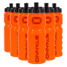 Load image into Gallery viewer, Stanno Centro Athlete Drink Bottle Set Of 6 (Orange)