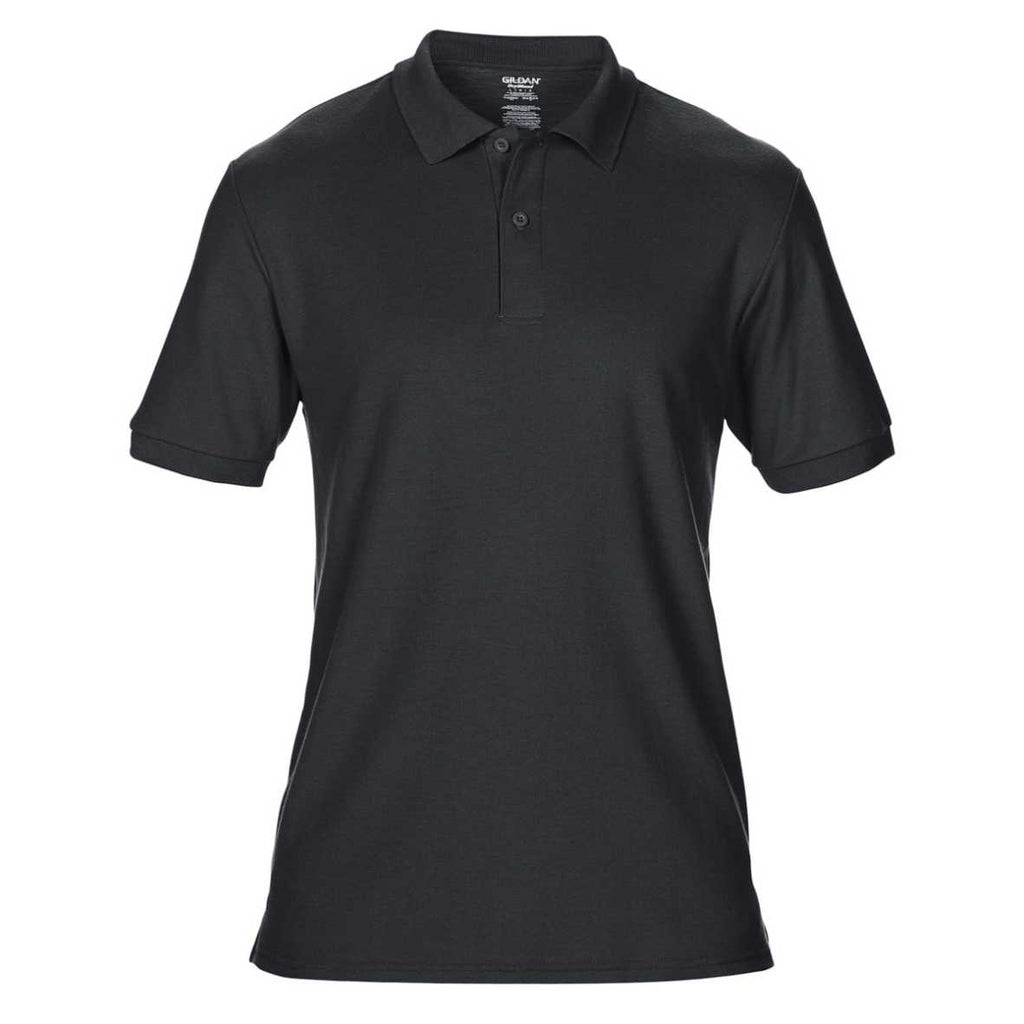 Gildan DryBlend® Adult Double Piqué Polo (Black)