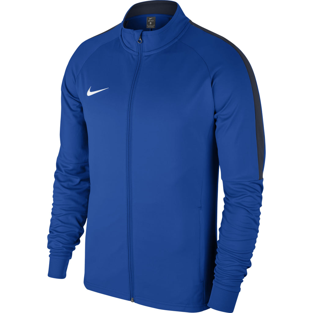 Nike Academy 18 Knit Track Jacket (Royal Blue/Obsidian)