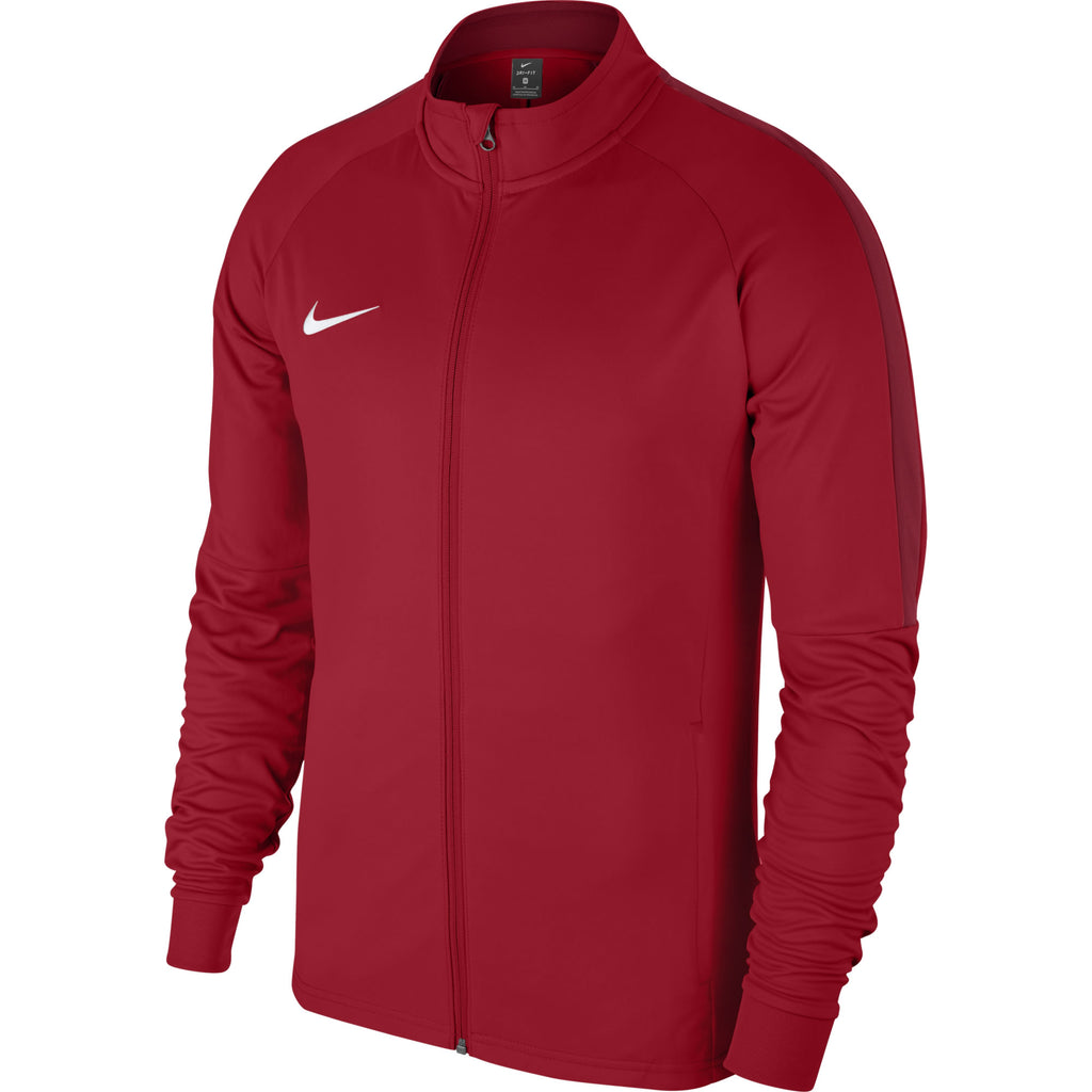 Nike Academy 18 Knit Track Jacket (University Red/Gym Red)