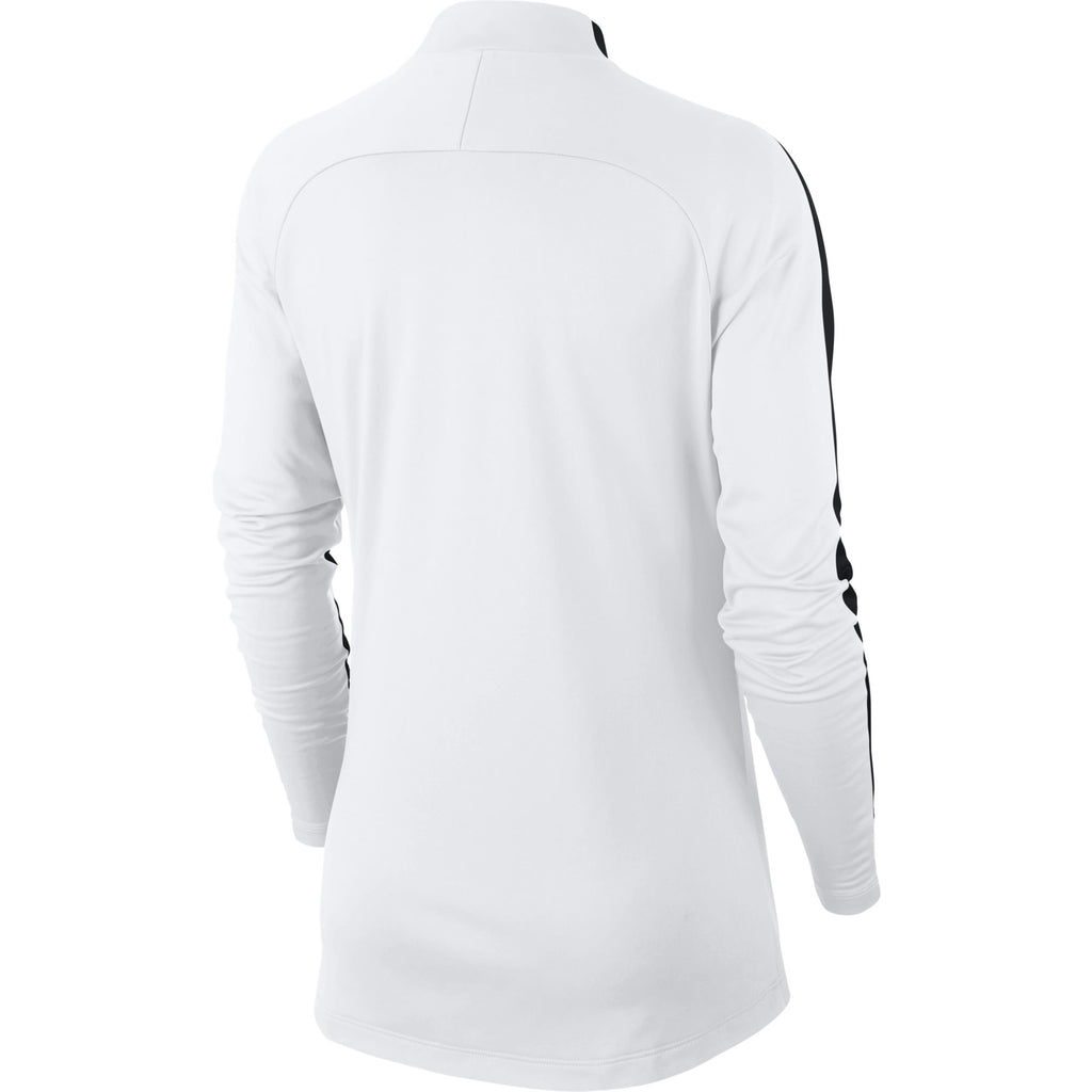 Nike Womens Academy 18 Drill Top (White/Black)