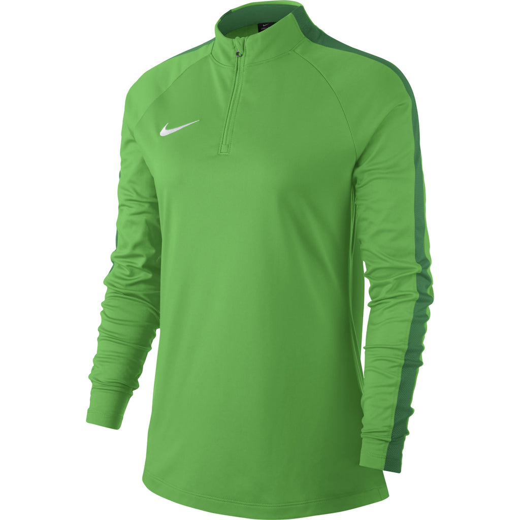 Nike Womens Academy 18 Drill Top (Green Spark/Pine Green)