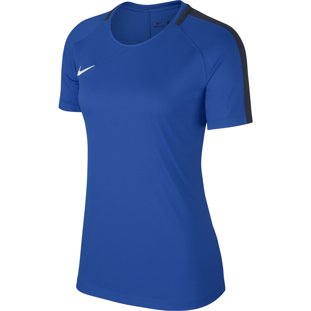 Nike Womens Academy 18 Training Top (Royal Blue/Obsidian)