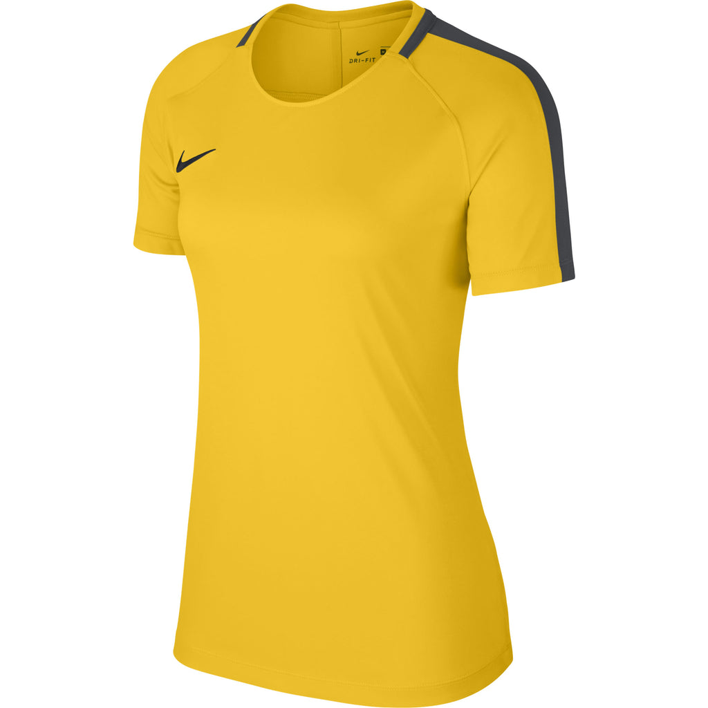 Nike Womens Academy 18 Training Top (Tour Yellow/Anthracite)