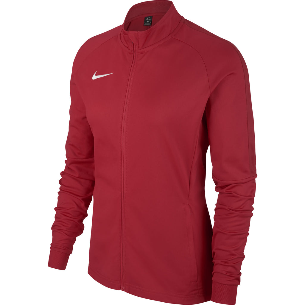 Nike Womens Academy 18 Knit Track Jacket (University Red/Gym Red)