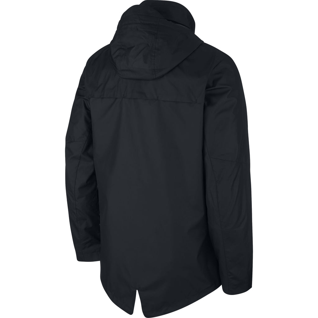 Nike Academy 18 Rain Jacket (Black/White)