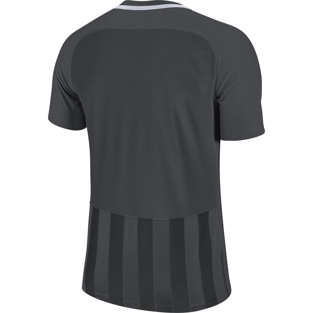 Nike Striped Division III SS Football Shirt (Anthracite/Black/White)