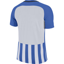 Load image into Gallery viewer, Nike Striped Division III SS Football Shirt (Royal Blue/White/Black)