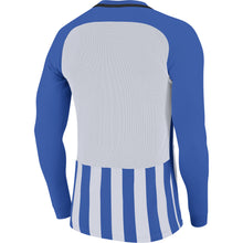 Load image into Gallery viewer, Nike Striped Division III LS Football Shirt (Royal Blue/White/Black)