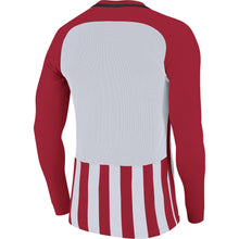 Load image into Gallery viewer, Nike Striped Division III LS Football Shirt (University Red/White/Black)