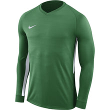 Load image into Gallery viewer, Nike Tiempo Premier LS Football Shirt (Pine Green/Pine Green/White)