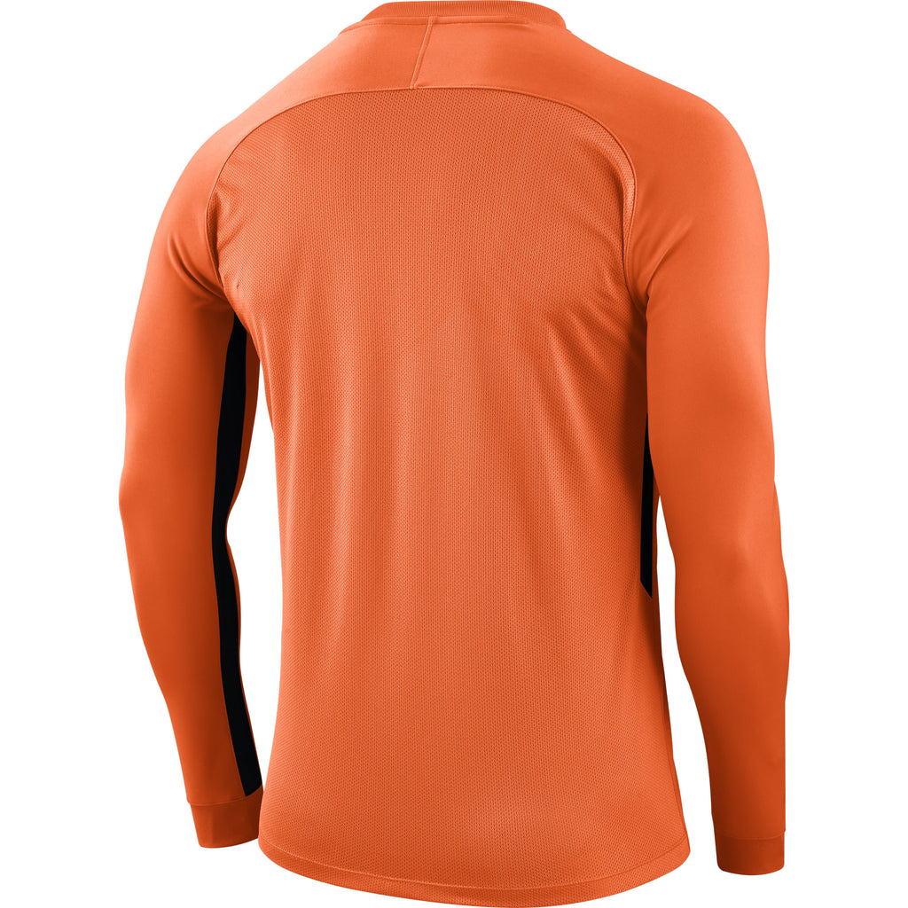 Nike Tiempo Premier LS Football Shirt (Safety Orange/Safety Orange/Black)