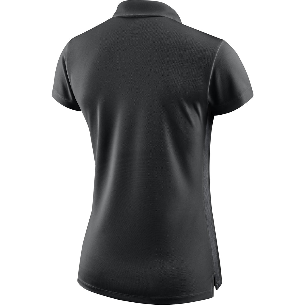 Nike Womens Academy 18 Polo (Black/Anthracite)