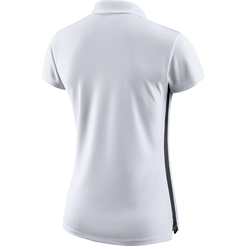 Nike Womens Academy 18 Polo (White/Black)