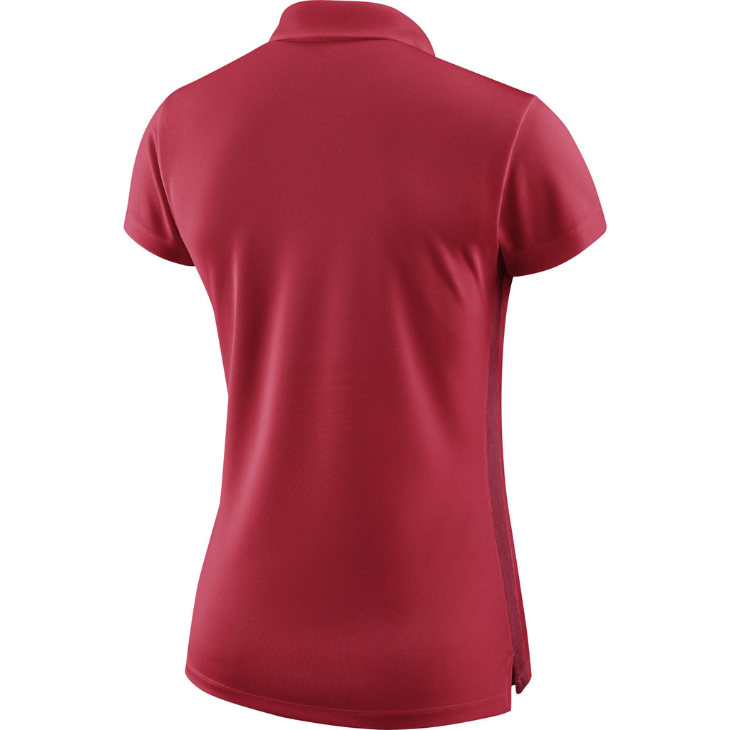 Nike Womens Academy 18 Polo (University Red/Gym Red)