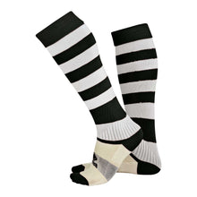 Load image into Gallery viewer, Errea Zone Football Sock (Black/White)