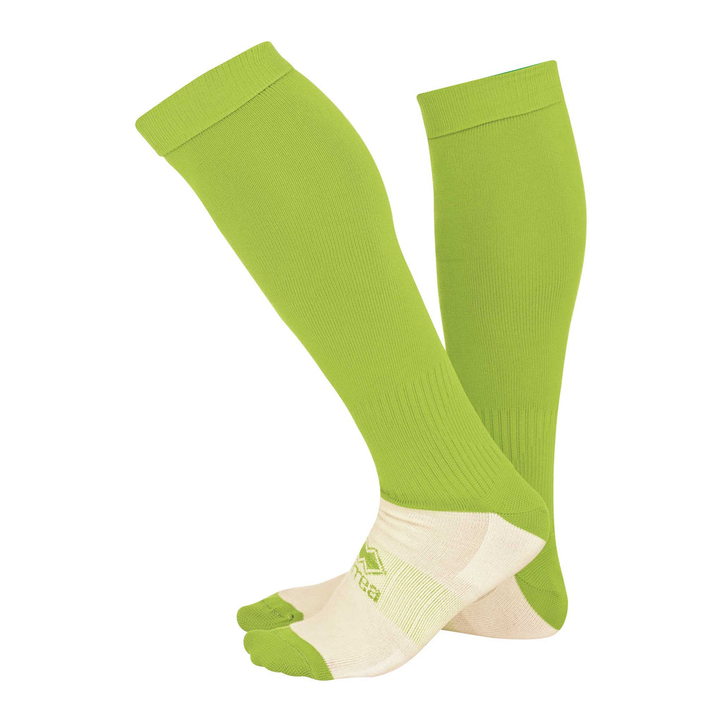 Errea Polyestere Football Sock (Green Fluo)