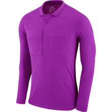 Load image into Gallery viewer, Nike Dry Referee LS Shirt (Vivid Purple/Bright Violet)