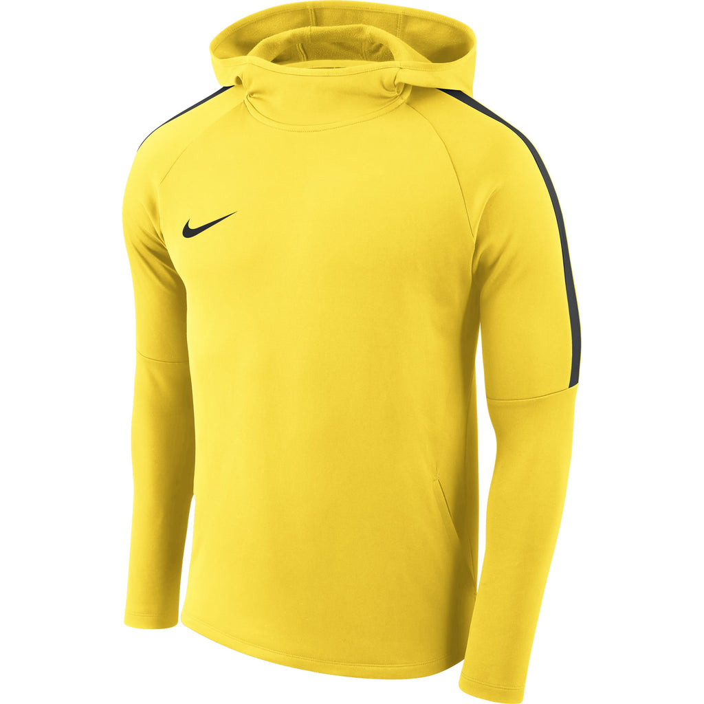 Nike Academy 18 Hoodie (Tour Yellow/Anthracite)