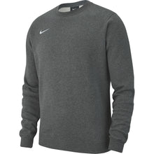 Load image into Gallery viewer, Nike Team Club 19 Crew (Charcoal Heather/White)