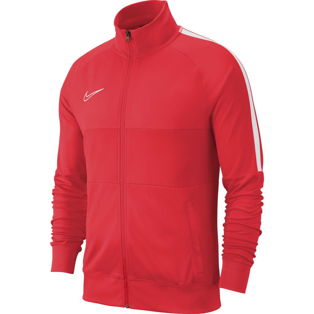 Nike Academy 19 Track Jacket (Bright Crimson/White)