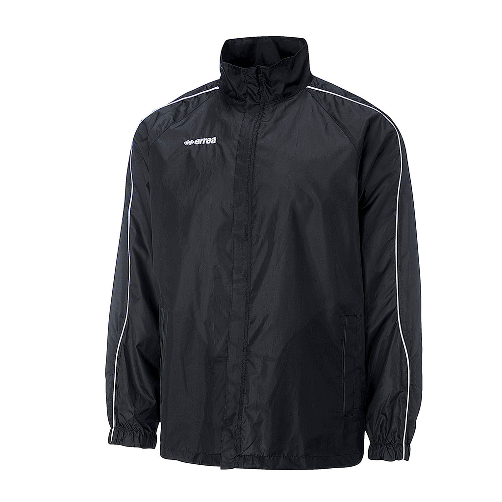 Errea Basic Rain Jacket (Black)