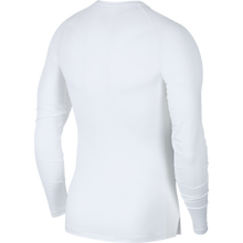 Load image into Gallery viewer, Nike Compression Crew Long Sleeve Top (White/Black)