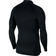 Load image into Gallery viewer, Nike Compression Mock Long Sleeve Top (Black/White)