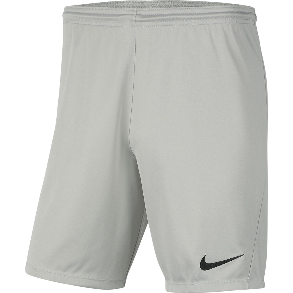 Nike Park III Short (Pewter Grey/Black)