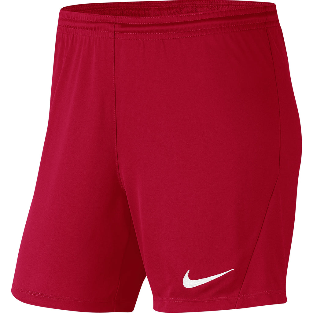 Nike Womens Park III Knit Short (University Red/White)