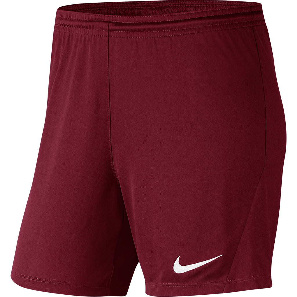 Nike Womens Park III Knit Short (Team Red/White)