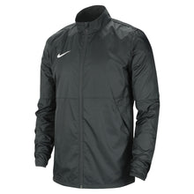 Load image into Gallery viewer, Nike Park 20 Rain Jacket (Anthracite/White)