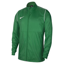 Load image into Gallery viewer, Nike Park 20 Rain Jacket (Pine Green/White)
