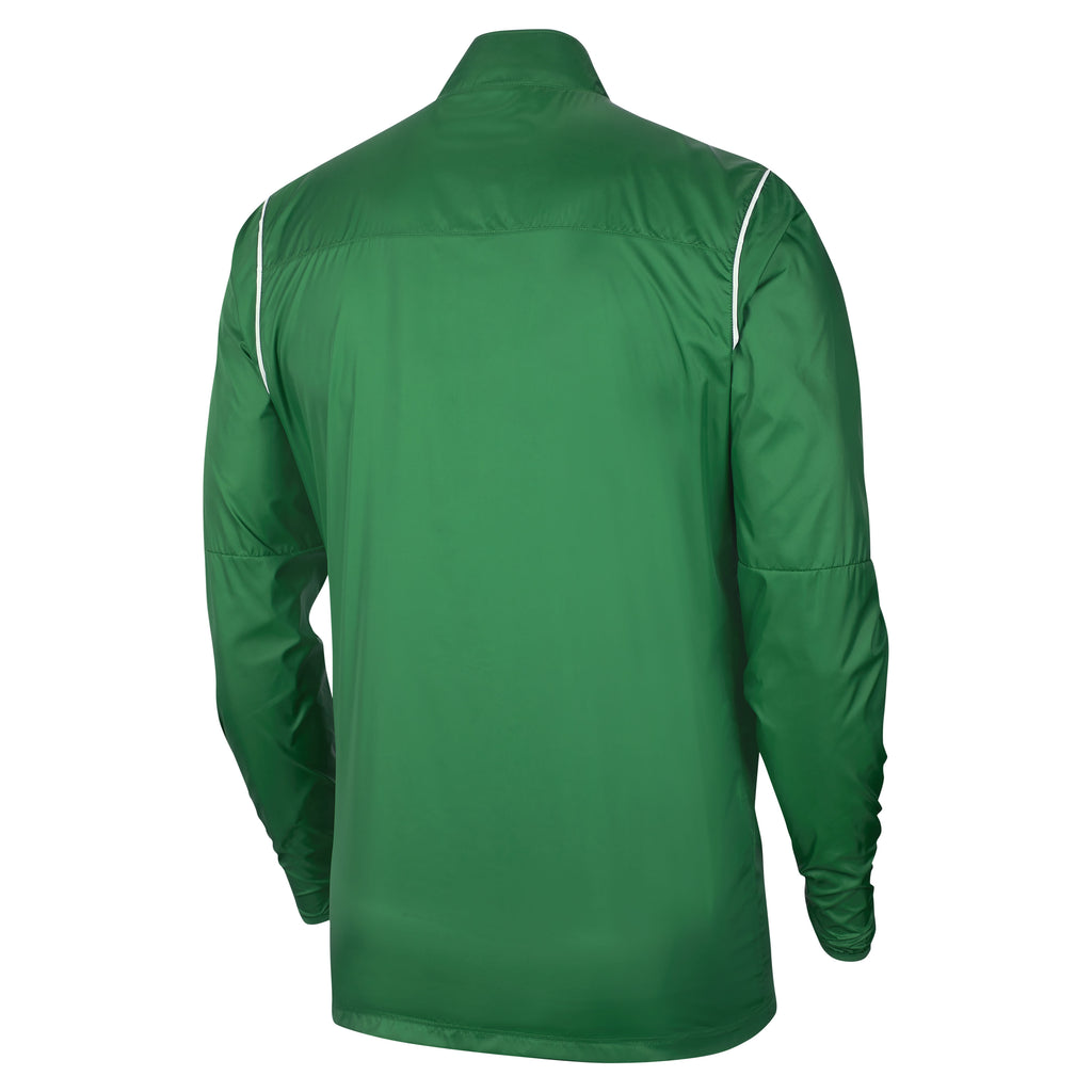 Nike Park 20 Rain Jacket (Pine Green/White)